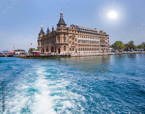 Haydarpasa train station and port - Istanbul, Turkey Fototapet