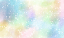 Abstract Colorful Watercolor Paper Paint / Background