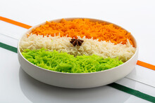 Indian Tricolour Or Tiranga Ri...