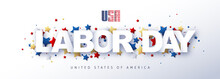 USA Happy Labor Day Advertisin...