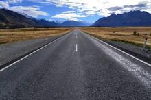 Straight Road Leading Towards ...