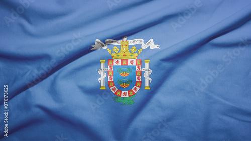 Melilla of Spain flag