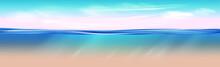 Ocean Landscape Realistic Unde...