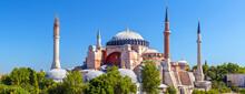Hagia Sophia Mosque In Summer,...