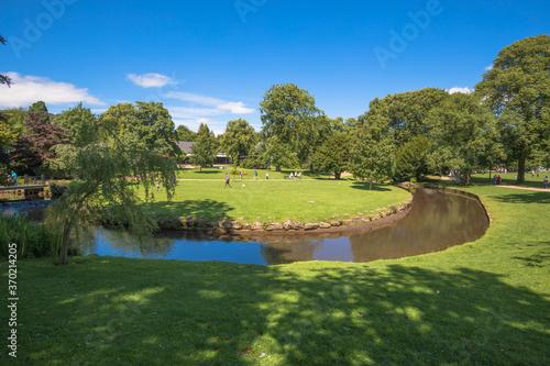 Views of The Pavilion Gardens, Buxton, Derbyshire, UK Wallpaper Mural