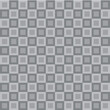 Abstract Geometric Pattern with Small and Large Squares. Design Element for Backdrops, Web Banners or Wallpaper in Gray Colors