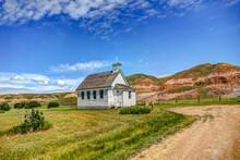 Rustic Church In Dorothy Alberta