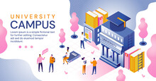 University Campus In An Educat...