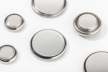Group Of Button Cell Battery O...