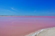 Amazing Salt Lake. Smooth Pink...