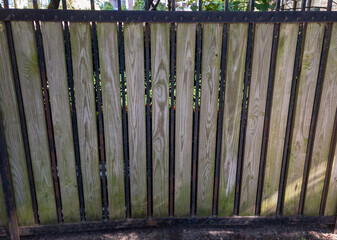 wooden fence and background