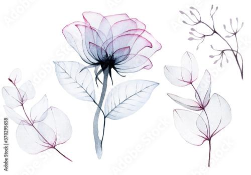 do-sypialni-szkic-akwarelowy-kwiaty