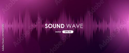 Fototapeta Sound wave