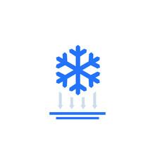 Frost Impact Icon On White