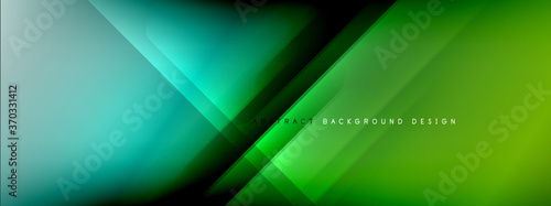 Motion concept neon shiny lines on liquid color gradients abstract backgrounds Wallpaper Mural