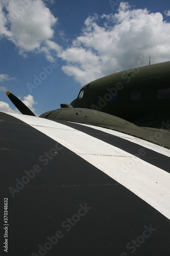 Платно Douglas  Dakota C-47,  Military, transport, aircraft