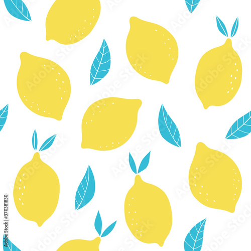 Tapeta do kuchni  vector-seamless-pattern-with-abstract-lemons-pattern-with-fruit-vector-fruit-illustration-natural-seamless-texture-a-scandinavian-style-pattern-for-wallpaper-textiles-fabric-paper
