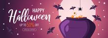 Happy Halloween Promo Sale Fly...