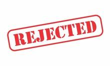 Rejected Stamp Illustration Is...