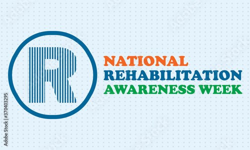 Photo National Rehabilitation Awareness Week is a time to acknowledge the many benefits that can arise from rehab programs