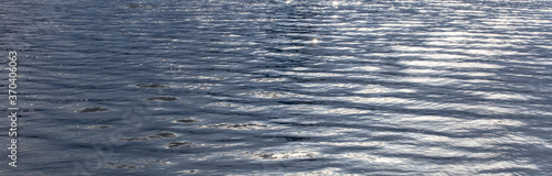 texture of blue sea water surface background Fototapeta