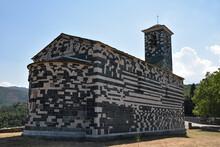 Eglise Romane San Michele De Murato Dans Le Nebbio, Corse