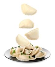 Many Tasty Dumplings Falling O...