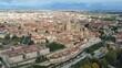 Salamanca, Beautiful city of Spain. Aerial Drone Footage