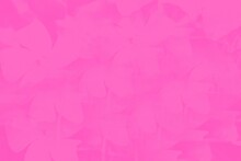 Pink Fuchsia Color Abstract Background With Blurred Flowers Pattern