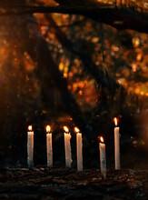Magic Candles In Fabulous Nigh...