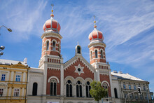 The Great Synagogue In Plzen, ...