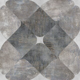 abstract gray cement texture and geometric pattern background - 370522454