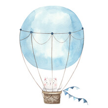Illustration Of A Balloon In B...