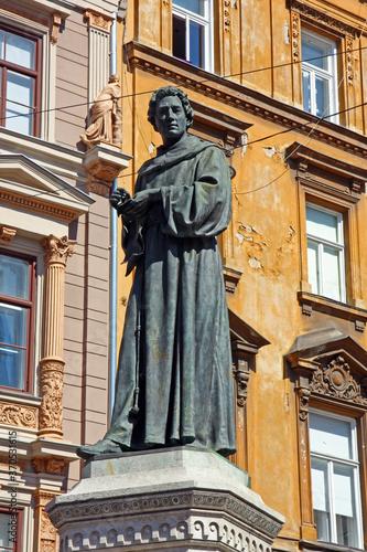 Fototapeta Statue of Andrija Kacic Miosic, Croatian poet