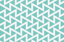 White Seamless Zig Zag Pattern...