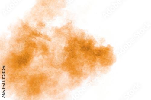 Fotomural Brown powder dust cloud