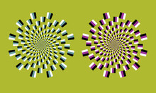 Abstract Optical Illusion Spir...