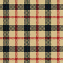 Checkered Classical Pattern Ta...