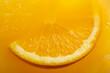 canvas print picture - Close up of orange margarita cocktail