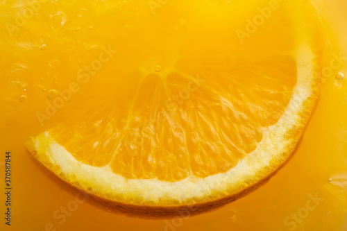 Obraz Close up of orange margarita cocktail - fototapety do salonu