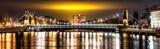 Fototapeta Fototapeta Londyn - Wroclawski Most nocą