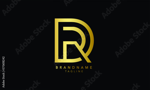 Photo Alphabet letters Initial Monogram logo DR, RD, D and R