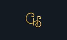 Luxury Fashion Initial Letter CH Logo.
