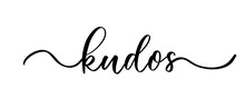 Kudos - Vector Calligraphic In...