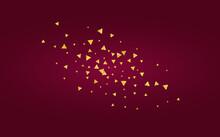 Golden Dust Holiday Burgundy B...