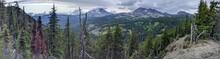 Bend Oregon Todd Lake Panoramic