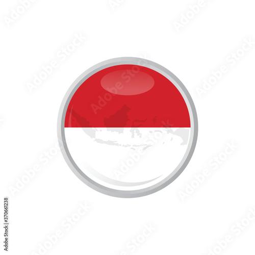 Платно Pokeball icon, Flag of Indonesia