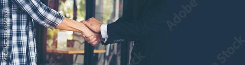 Banner template Partner Business Trust Teamwork Partnership Fototapet