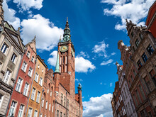 Old Town Hall In Gdansk