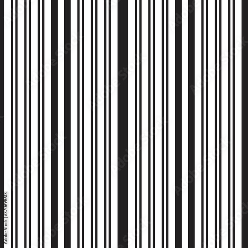 Tapeta czarno biała  black-and-white-stripe-seamless-pattern-background-in-vertical-style